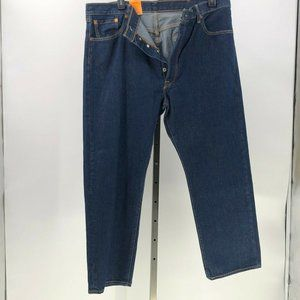 Levi's 501 straight leg button fly jeans 42x30*